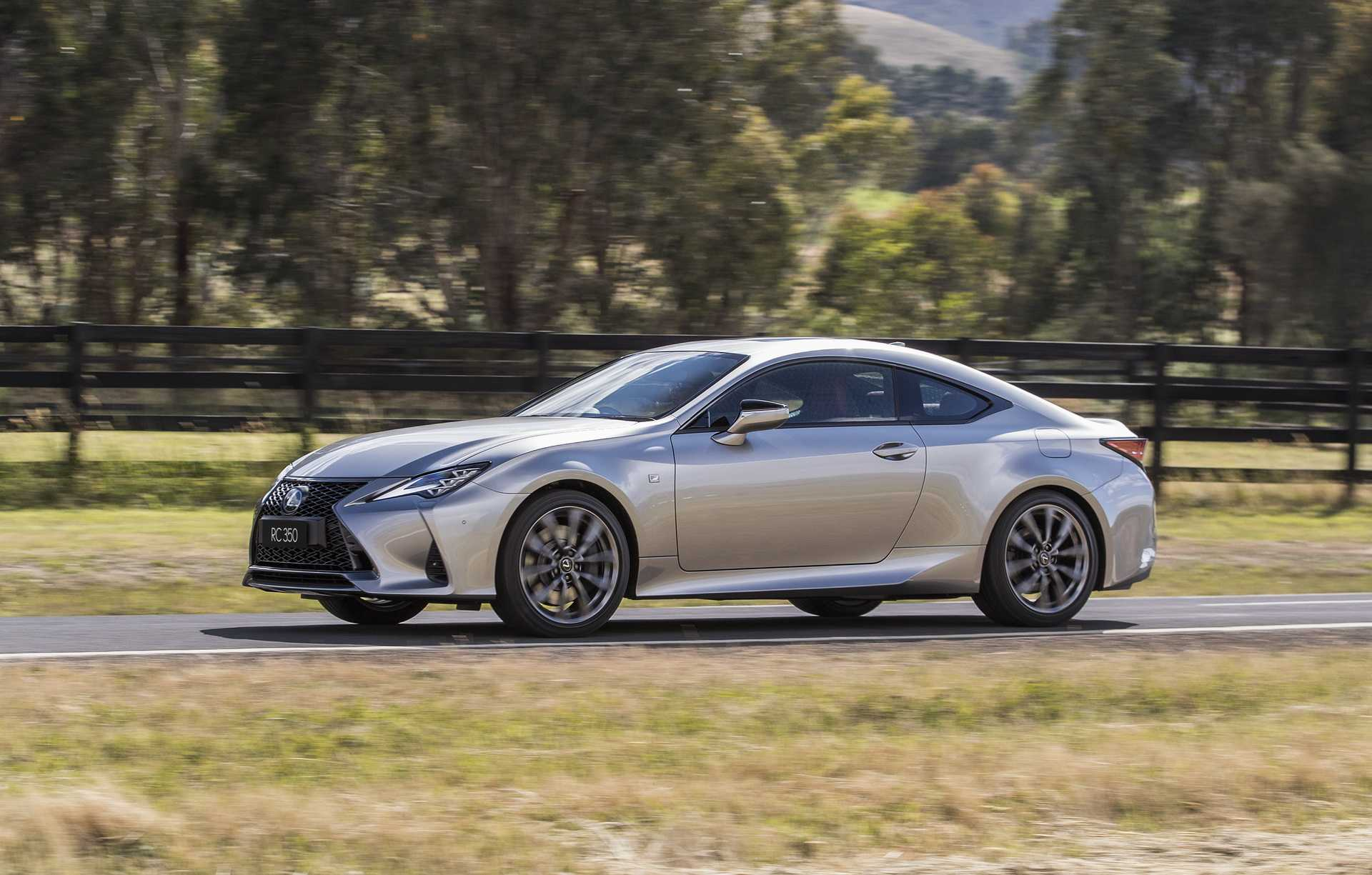 2021 Lexus RC is Bringing Multiple Improvements, Better Gear Ratio and Safety