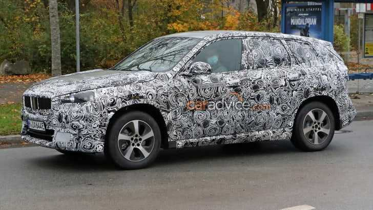 2022 BMW iX1 Electric SUV Spotted on the Road, Spy Shots Available Now