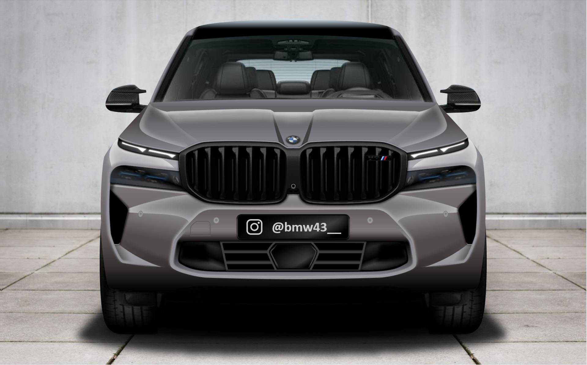BMW X8 M Rendered Images Surfaces Online Again, Promises 700+ Horsepower