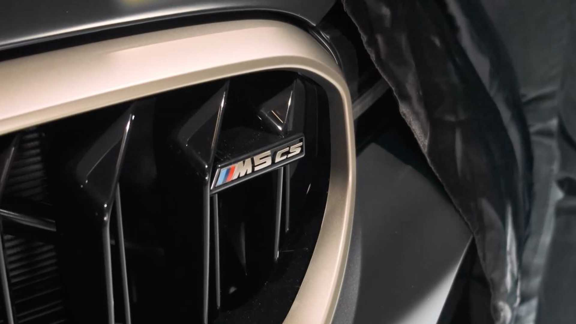 BMW Starts Talking About M5 CS, Possible Reveal in 2021 January