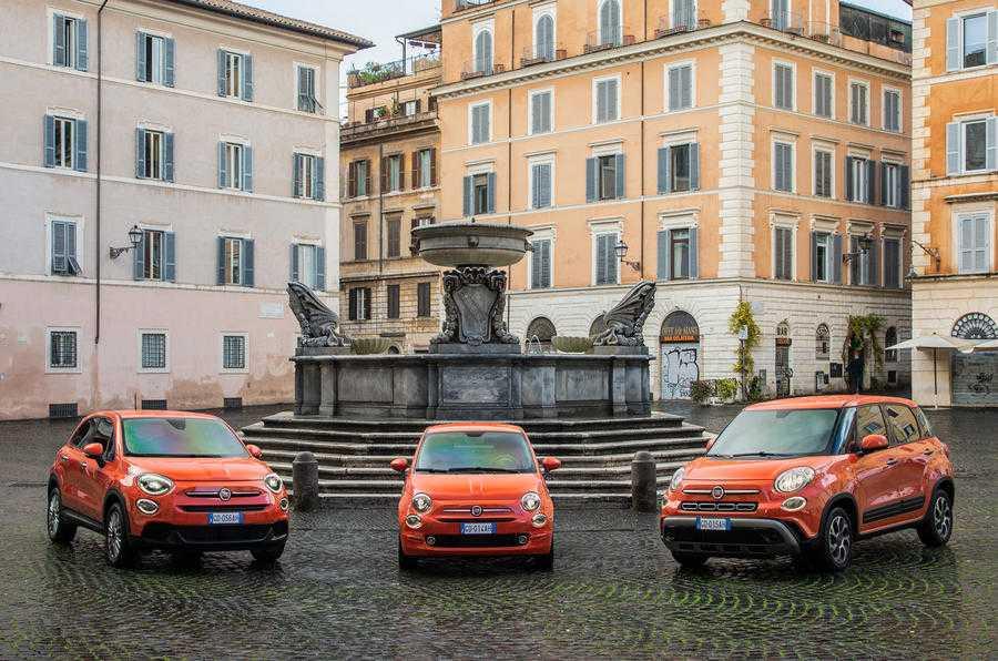 2021 Fiat 500 Variants