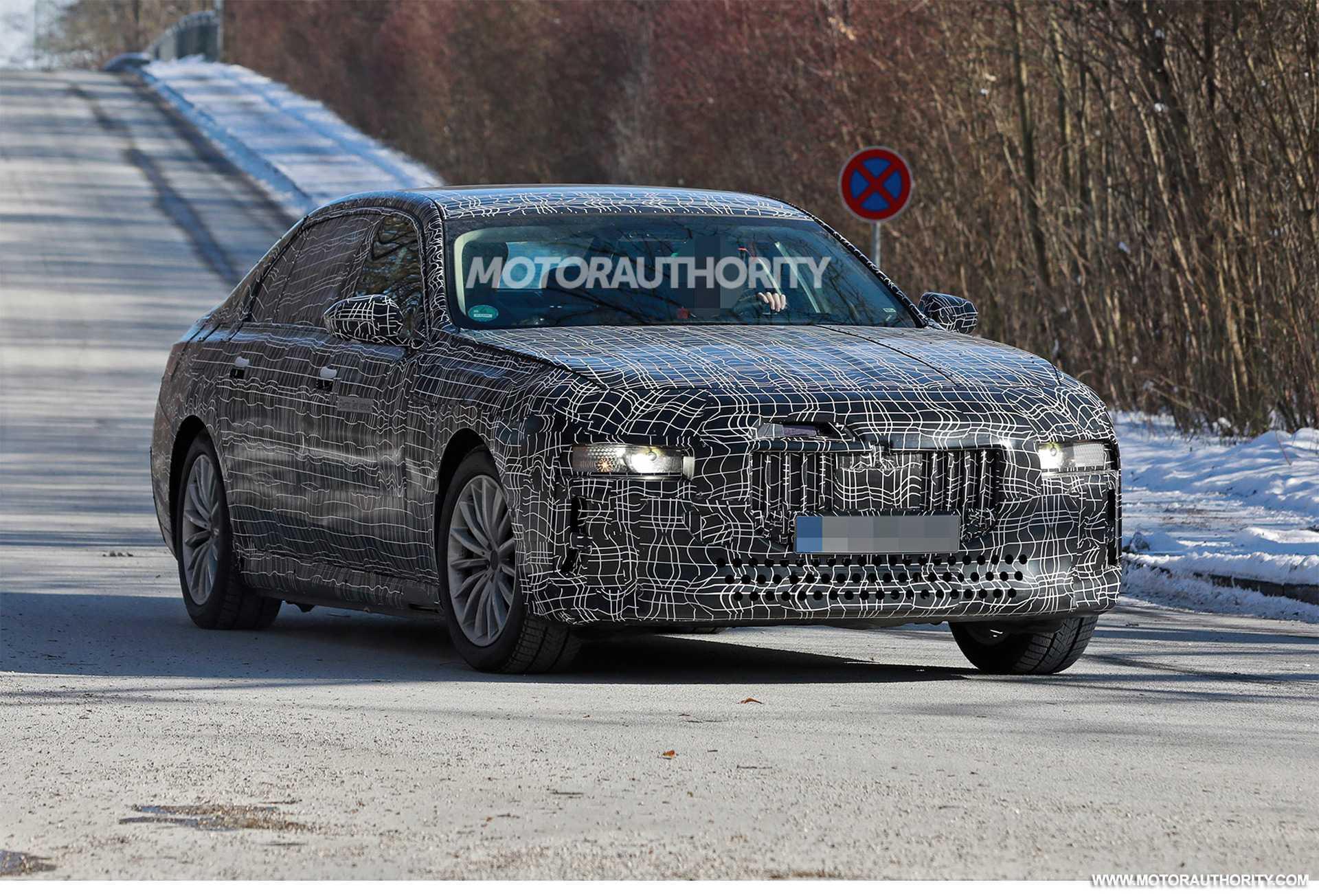 2023 BMW i7 Next Gen 7-Series EV Car