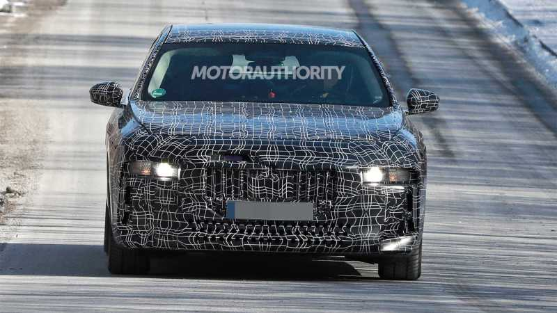 2023 BMW i7 Next Gen 7-Series EV Car