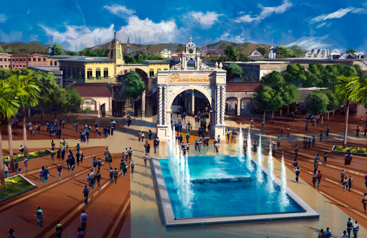 Paramount Park Murcia Alhama de Murcia Entrance