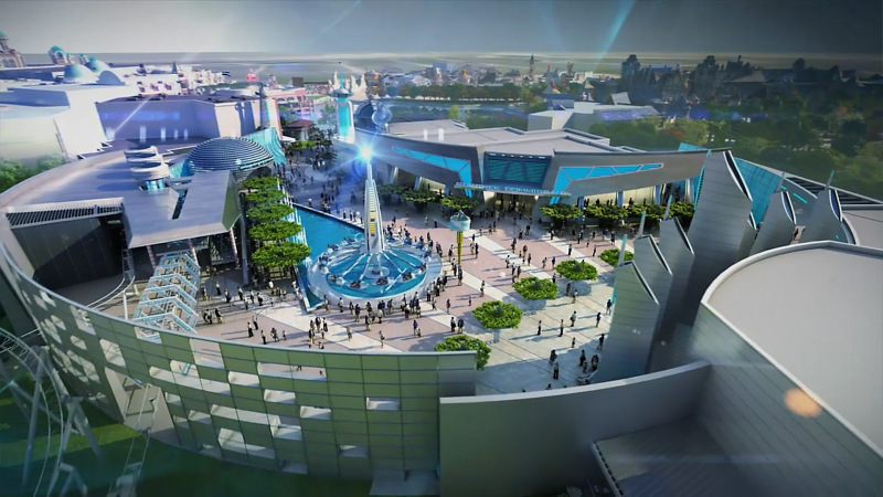 Paramount Amusement Park Murcia PLAZA FUTURA Star Trek