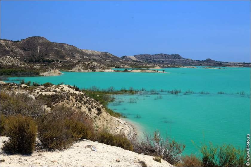 San Miguel de Salinas La Pedrera Lake