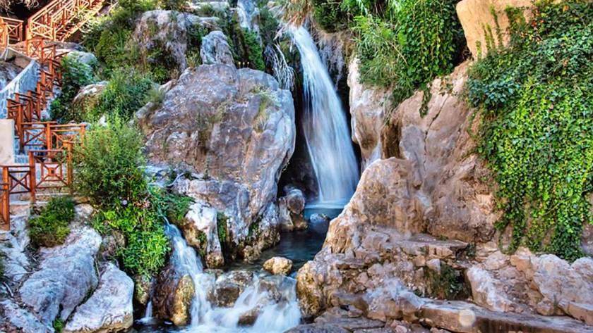 Guadalest Algar waterfalls