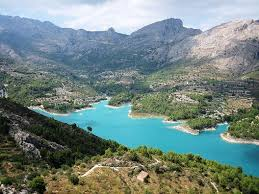 Guadalest Embalse walking Route