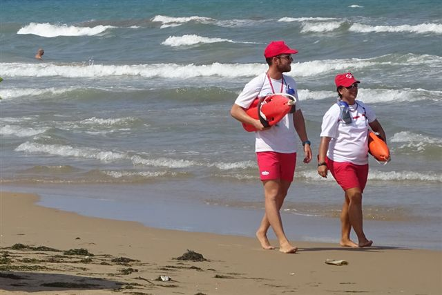 Lifeguards at Orihuela Costa