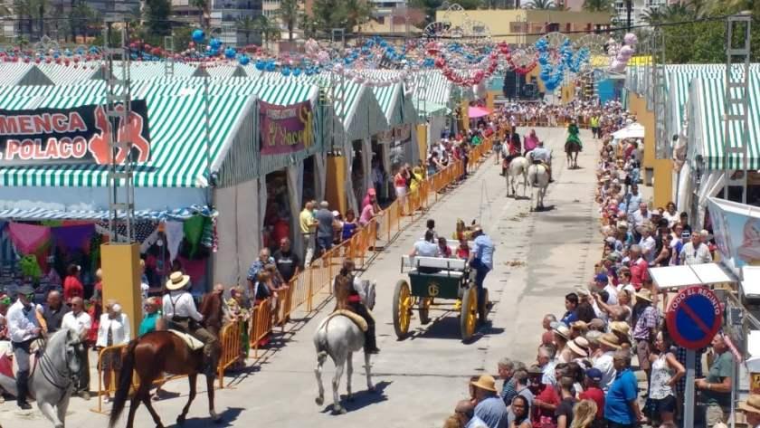 Sevillanas fair in Torrevieja