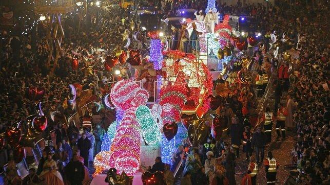 Three kings parades