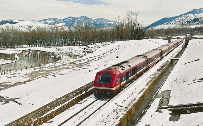 indian railways kashmir leh manali