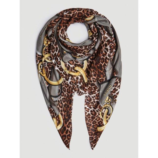 foulard stampa animalier Guess Euro 45, su La Redoute Fr