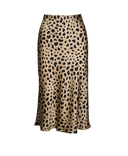 leo print skirt in silk and polyester stretch fabric, 15,39 Euros on Amazon website