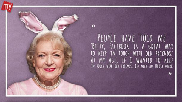 BettyWhite9 - 26 All Time Best Betty White Quotes & Funny Memes In Honor Of Her (96th!) Birthday