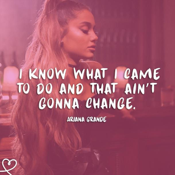 22 Ariana Grande Quotes & Song Lyrics To Foster Your Vibes ...