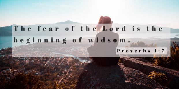 daily bible verse proverbs 1 7 - Your Daily Bible Verse, Proverbs 1:7 & Why Fear Is The Beginning Of Wisdom