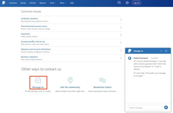 How to change PayPal from Business to Personal