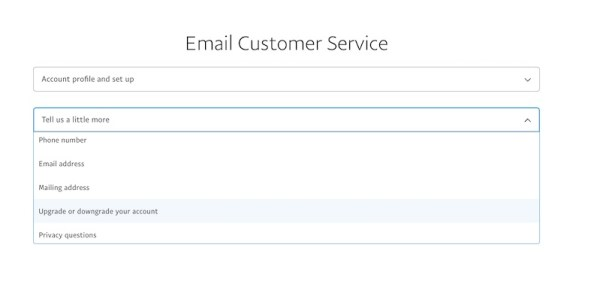 How to change PayPal from Business to Personal email