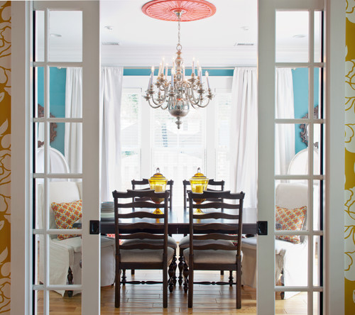 Hot Home Trend: Double-Pocket Doors That Make a Statement