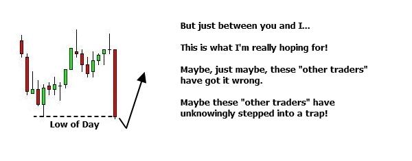 Identify a potential trap