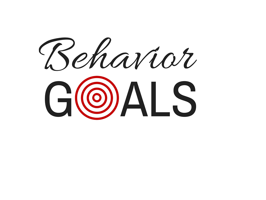 Focus On The Behavior Change
