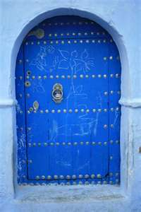 Door to Morrocco