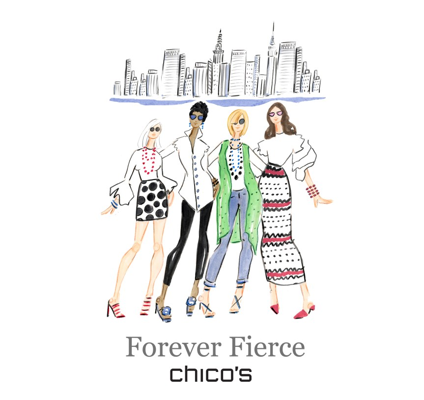 Forever Fierce Chico's