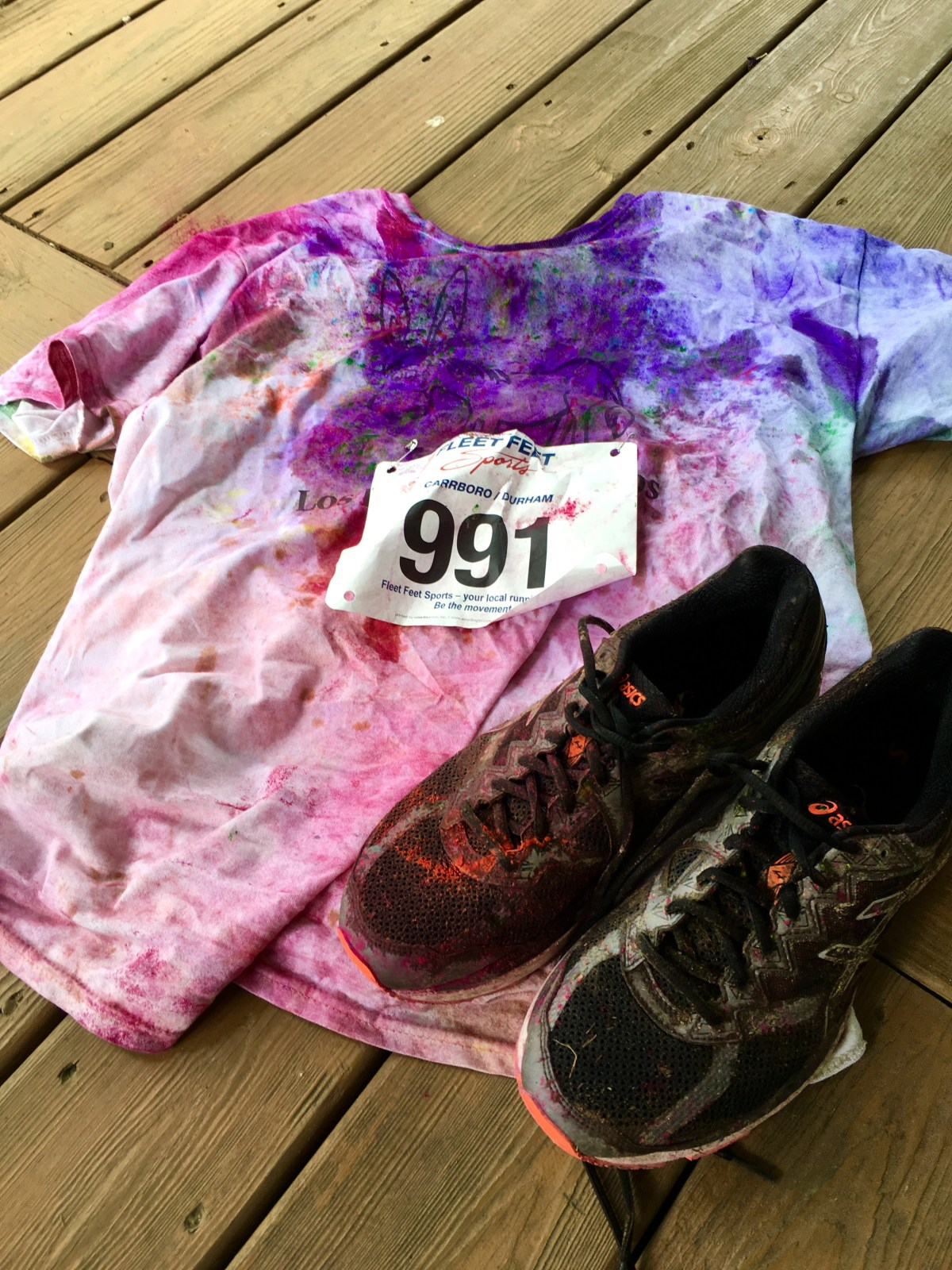 Color the Hill 4K Race Report (2016)