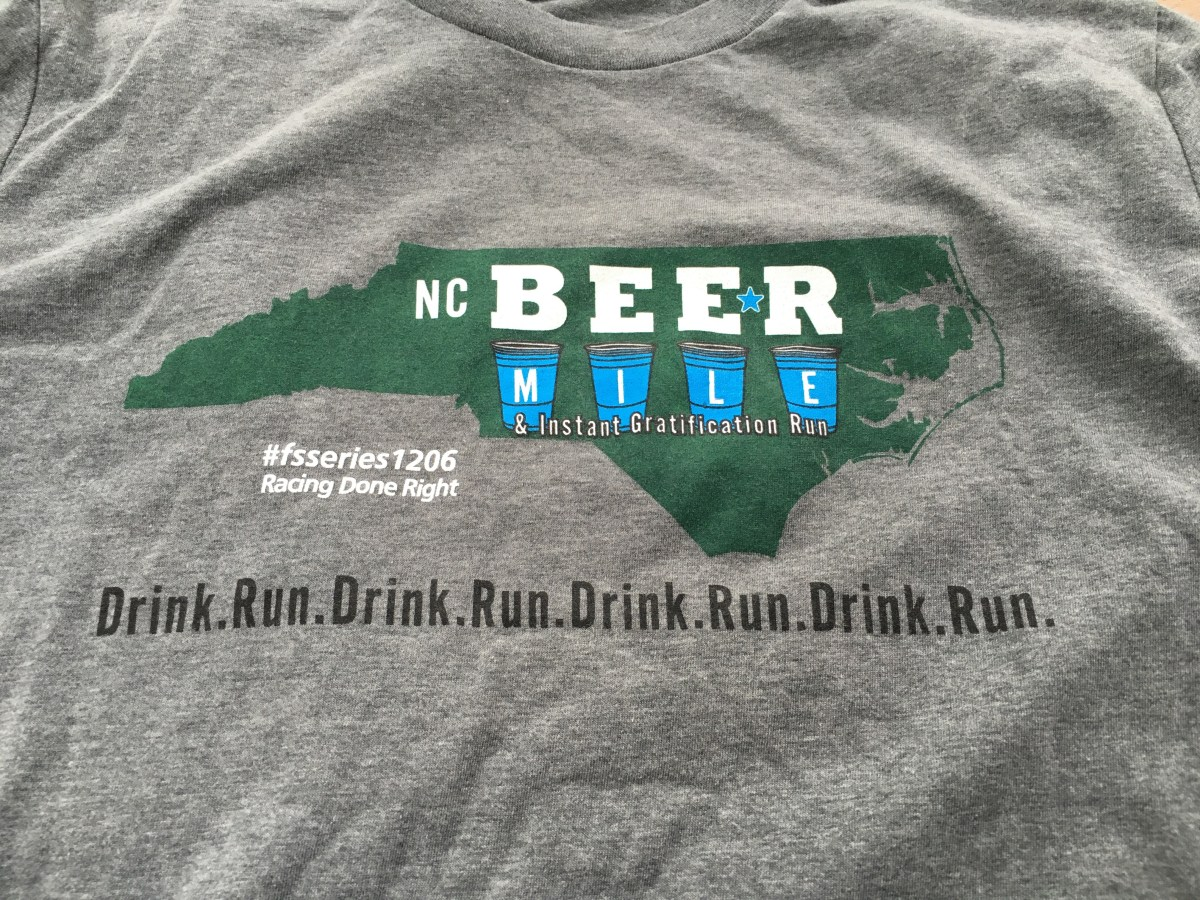 You Sunk My Battleship: NC Beer Mile Race Report (2016)
