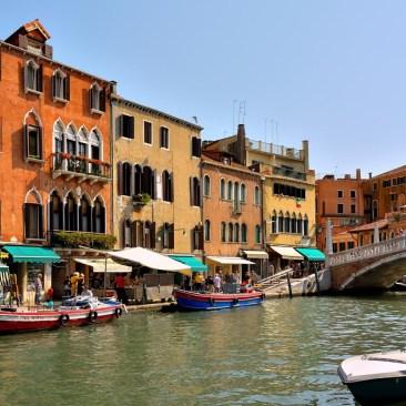 по лагуне Венеции