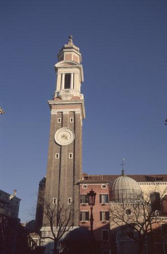 Венеция с колокольни Santi Apostoli