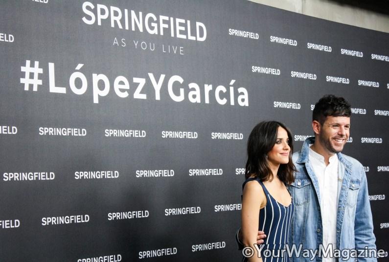 macarena garcia y pablo lopez springfield campaña ropa #lopezygarcia