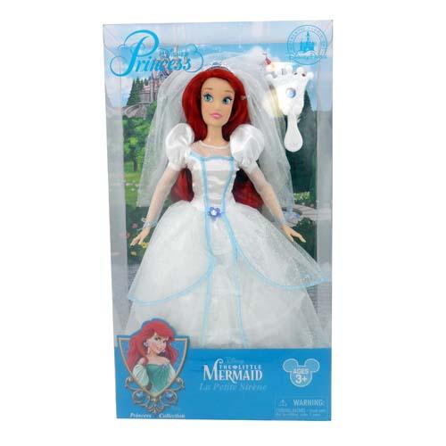Your WDW Store Disney Doll The Little Mermaid Ariel