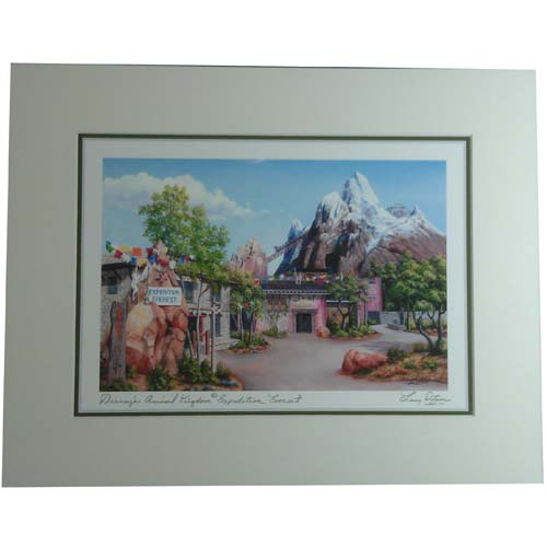 Your WDW Store Disney Larry Dotson Print Disneys