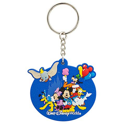 Your WDW Store Disney Keychain Keyring Storybook Walt