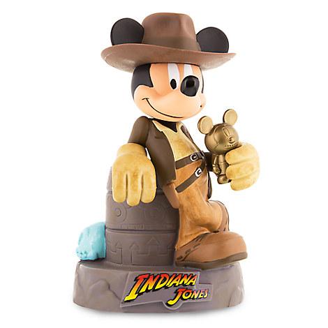Disney Coin Bank Mickey Mouse As Indiana Jones
