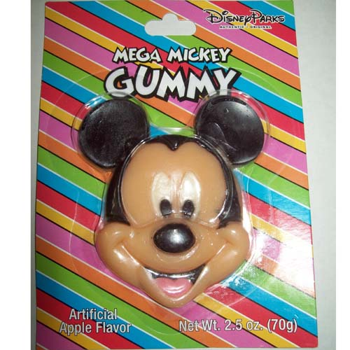Disney Candy Mickey Mouse MEGA GUMMY FACE