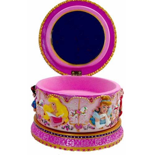 Your WDW Store Disney Music Box Princesses Carousel