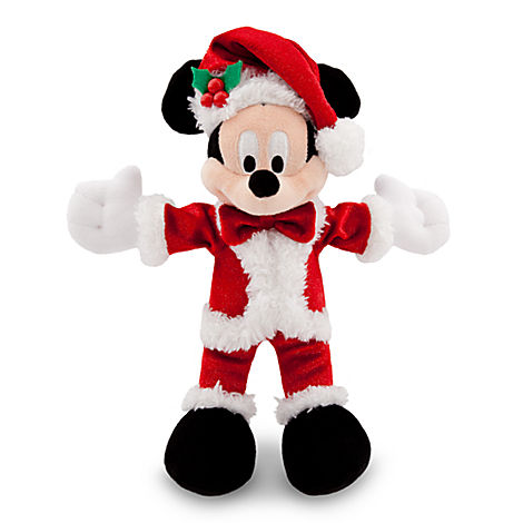 Your WDW Store Disney Christmas Plush Happy Holidays