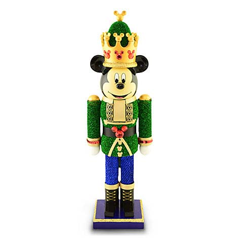 Disney Nutcracker Figure Mickey Nutcracker Green King