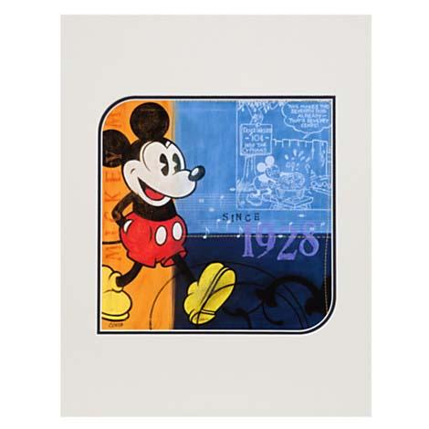 Disney Artist Print Costa Alavejos Mickey 1928