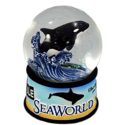 SeaWorld Snow Globe Orca Killer Whale Statistics