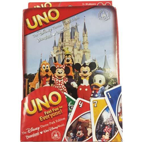 Disney Game Disney Theme Park Edition UNO
