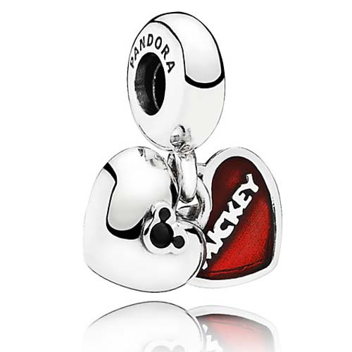 Disney PANDORA Charm Mickey And Minnie