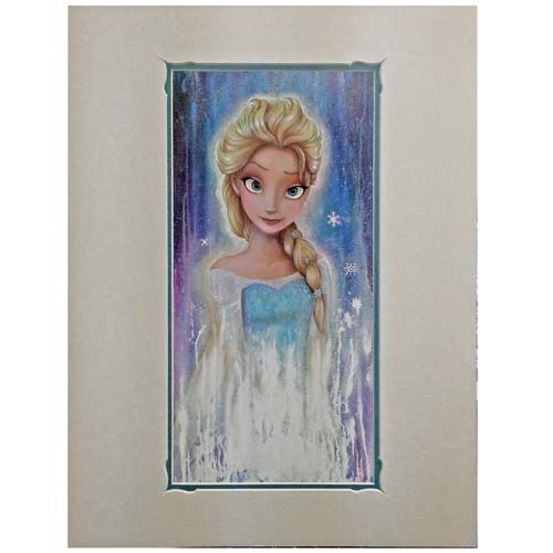 Your WDW Store Disney Deluxe Artist Print Elsa Fade By
