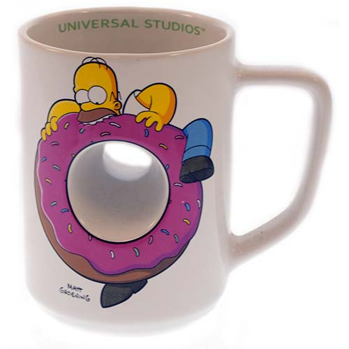 Your WDW Store Universal Coffee Cup Mug The Simpsons