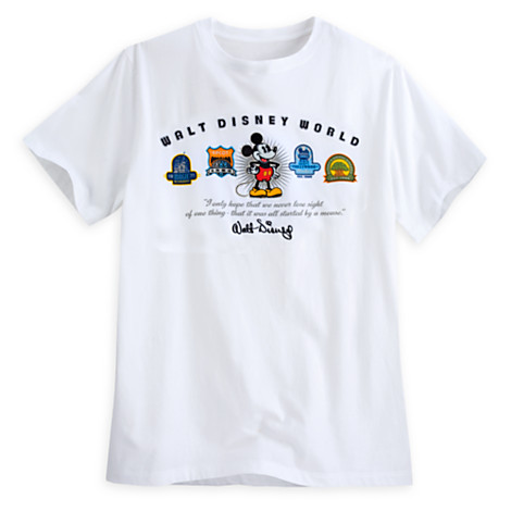 Your WDW Store Disney ADULT Shirt Mickey Mouse And