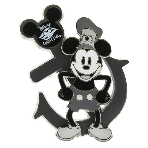 Your WDW Store Disney Cruise Line Pin Steamboat Willie