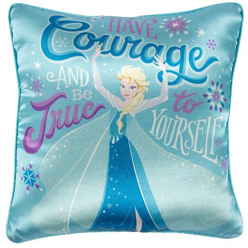 disney decorative pillow frozen elsa true to yourself